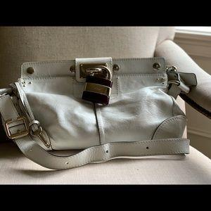 EUC Chloe white shoulder/crossbody bag